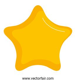 star light isolated icon