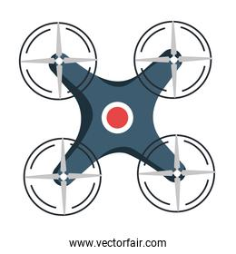 drone technology isolated icon