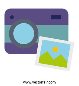 photographic camera with picture