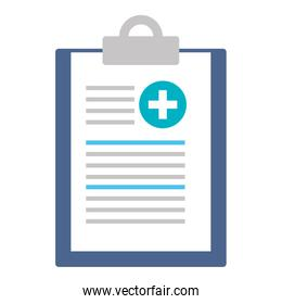 medical order clipboard icon