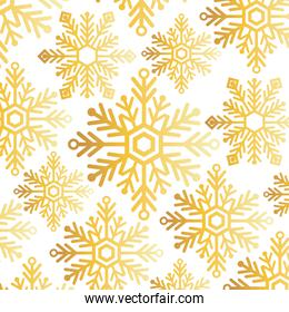snowflake christmas decoration pattern background