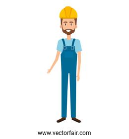 builder constructor with overall   character