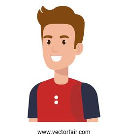 young man avatar character