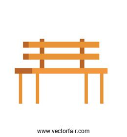 wooden park chair classic icon