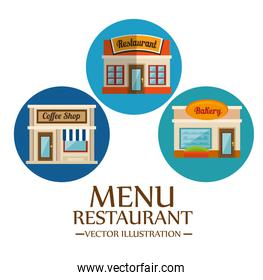 Food-related places design