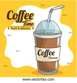 frappe and cold drink coffee