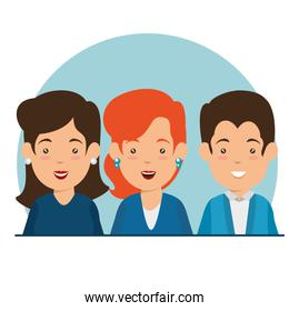 business people vector illustration graphic design