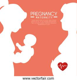 pregnancy and maternity infograhic