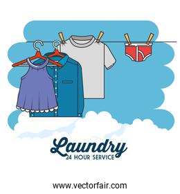 laundry clothes icon