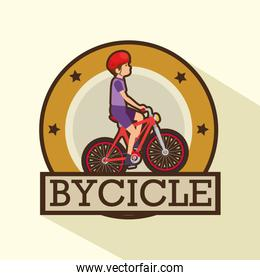 modern bike shop logo