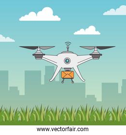 Drone and express delivery design