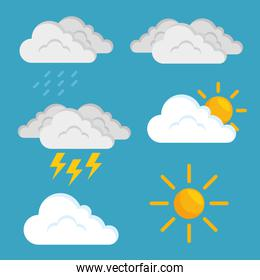 weather forecast concept