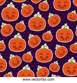 seamless pattern for happy halloween
