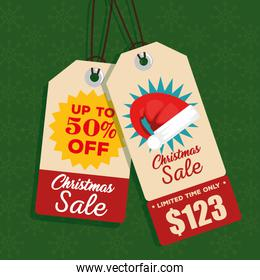christmas sale banner background