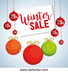 christmas big winter sale