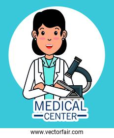 doctor medical center cartoon