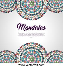 color mandala pattern background