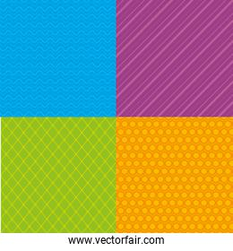 colors and styles patterns backgrounds