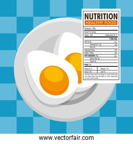 eggs frieds with nutrition facts