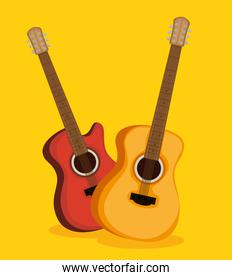 guitars electric and acoustic instruments