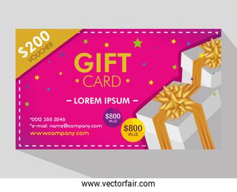 gift coupon discount sale price