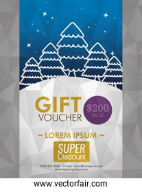 gift coupon discount with special price