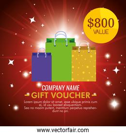 gift coupon with special price discount