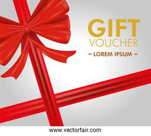 gift coupon with special sale offert