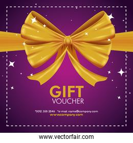 gift coupon with special promotion sale