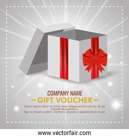 present gift with special sale discount