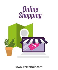 tablet ecommerce technology with location sale
