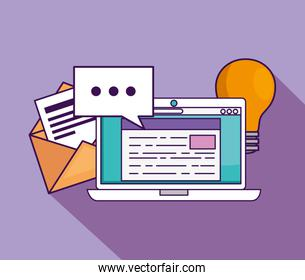 laptop technology with document education to study