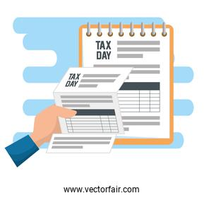 service tax financial document report
