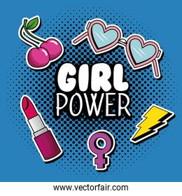 fashion pop art with girl power message