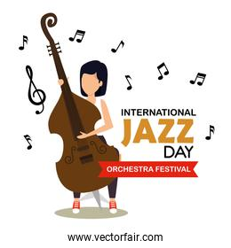 woman play cello instrument music