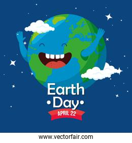 planet with teeth and arms to earth day