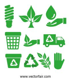 set ecological element to environment protection
