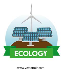 solar and wind energy to environment protection