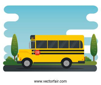 school bus vehicle education transport