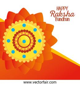 poster of hindu flowers event decoration
