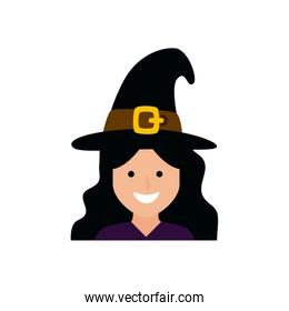 girl disguised witch avatar character