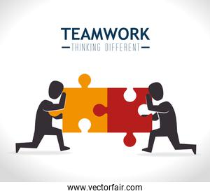 Teamwork design.