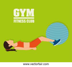 Gym and fitness lifestyle design