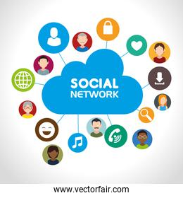 Social network and media