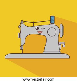sewing machine character icon
