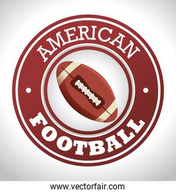 american football sport icon