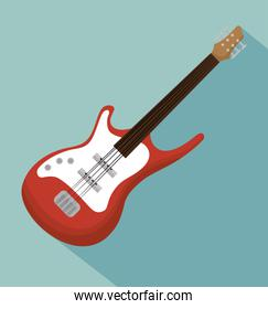 electric guitar acoustic instrument icon