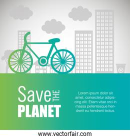 ecology card save the planet