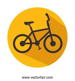 bicycle icon fitness sport