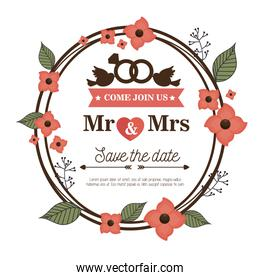 wedding invitation card icon